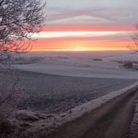 Morgenröte über Schwaney 01