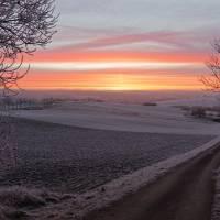 Morgenröte über Schwaney 02