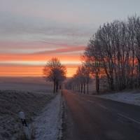 Morgenröte über Schwaney 04