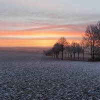 Morgenröte über Schwaney 05