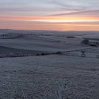 Morgenröte über Schwaney 08