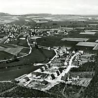 1960_Luftaufnahme_Sieldung