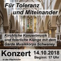 2018-10-14 Konzert für Toleranz und Miteinander