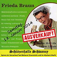 Frieda Braun 18. Januar 2014